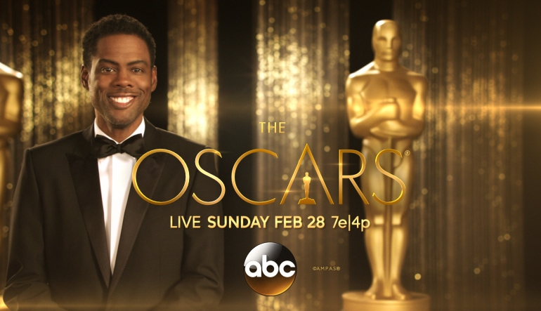 2016 Oscars, Hosted by Chris Rock