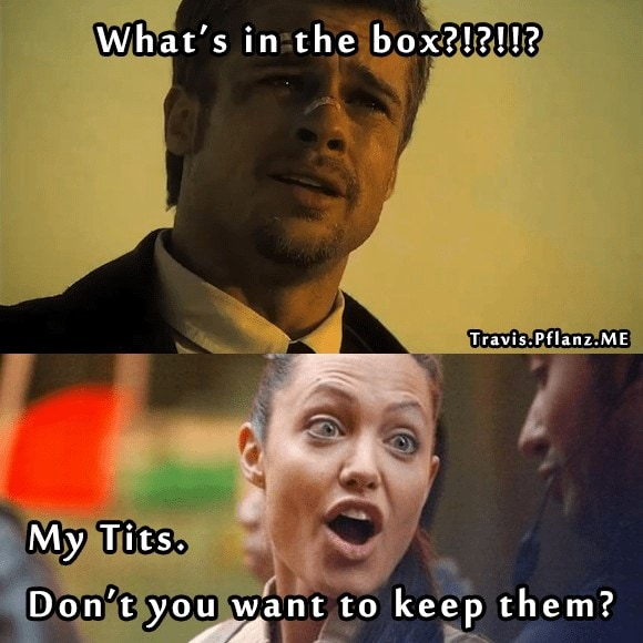 Whats In The Box Angelina Jolie Is Insane